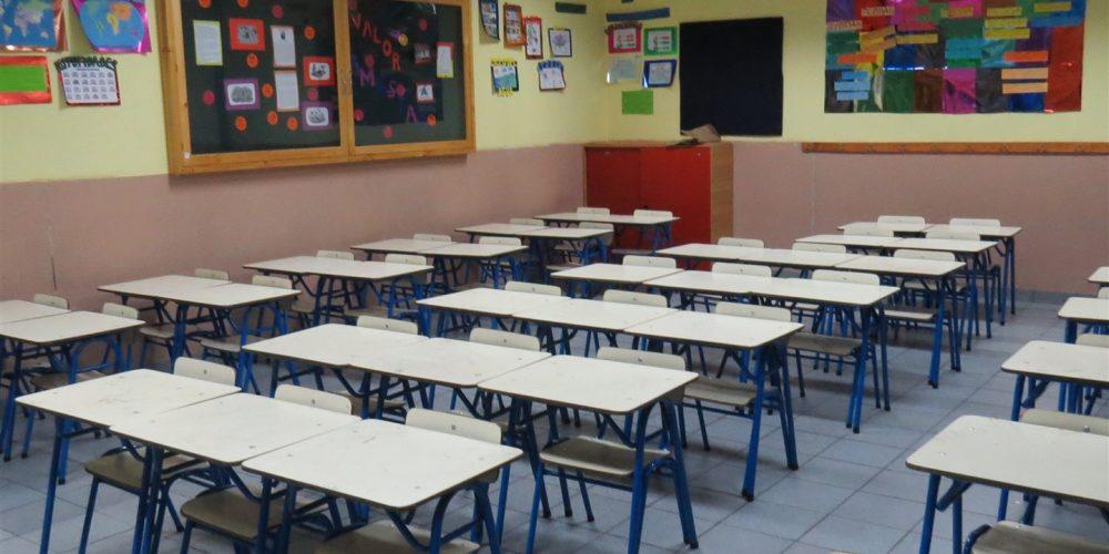 105 salas de clases básica
