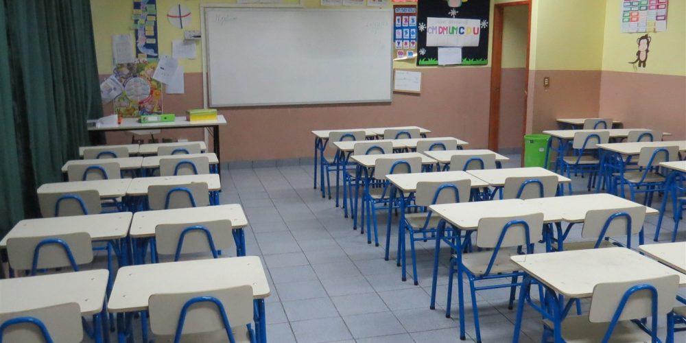 107 salas de clases básica