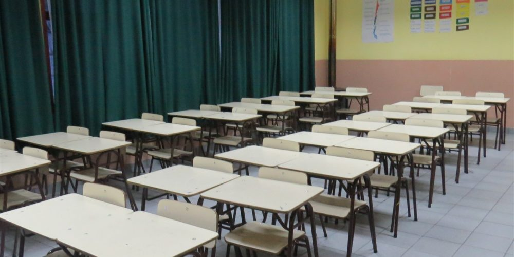 109 salas de clases básica