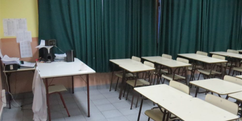 110 salas de clases básica