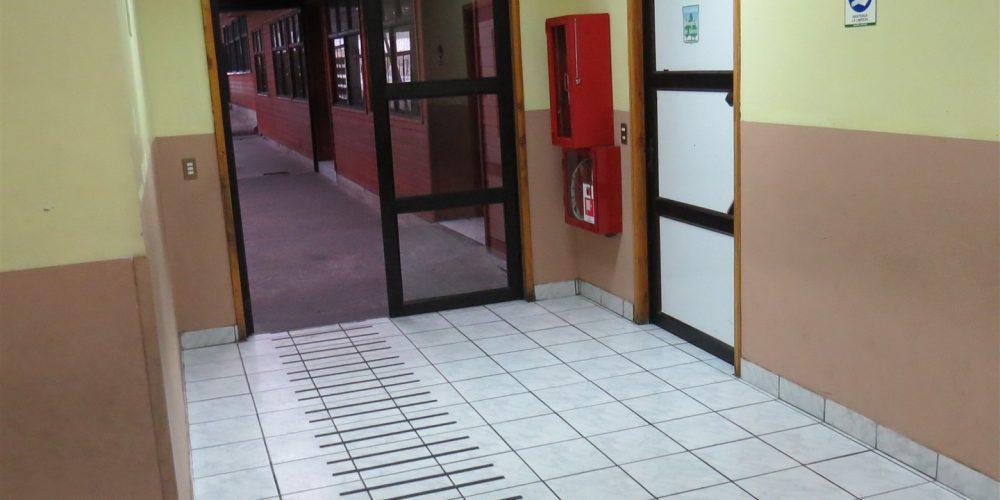 71 pasillos básica y salida emergencia