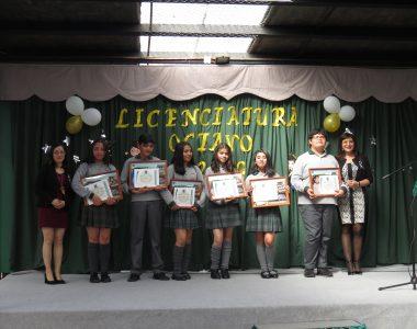 Licenciatura Octavo Año Básico 2019